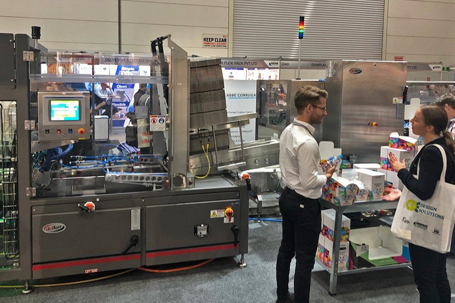 AUSPACK 2021 Delkor booth