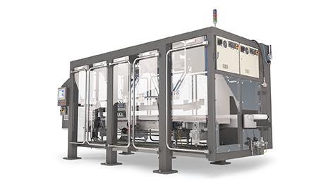Robotic loader for Delkor carton closers
