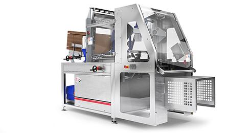 Carton erector for Delkor cartoning equipment