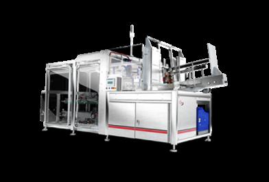 cartoning machine RS series rendered view