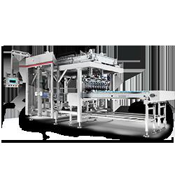 Cartoning machine D series compact case packer