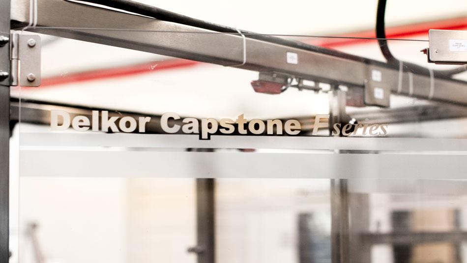 Case sealer Capstone F wide access doors