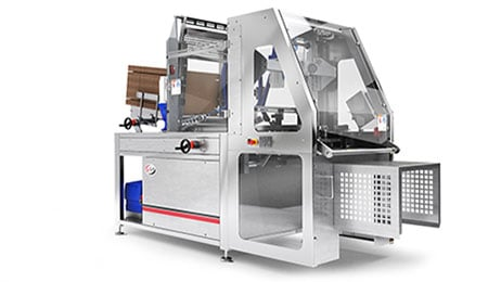 Carton and case erector for Delkor case sealers