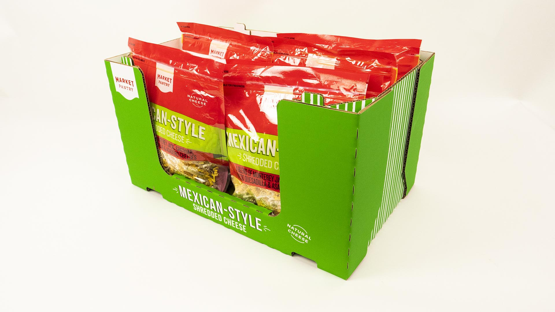 Cheese Expo Stackable Club Store Tray