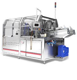 Compact Case Packer Versatile erector for cases and cut out trays