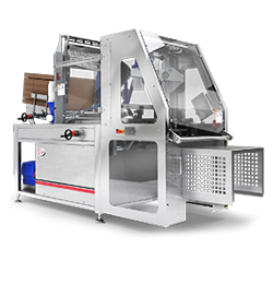 Compact case packer tray and case erector Trayfecta S Series