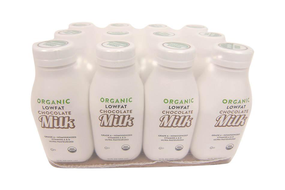 Dairy packaging spot-pak design shrink wrap