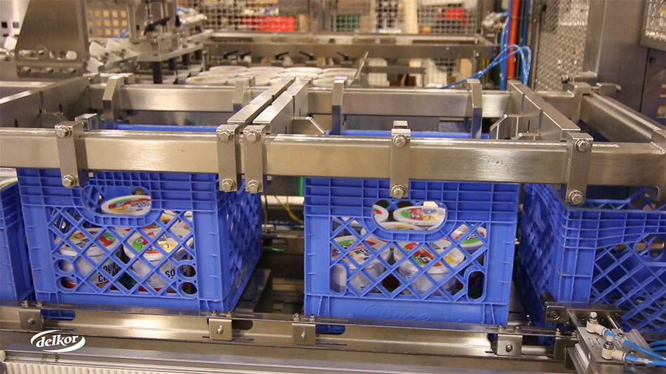 dairy packaging crates