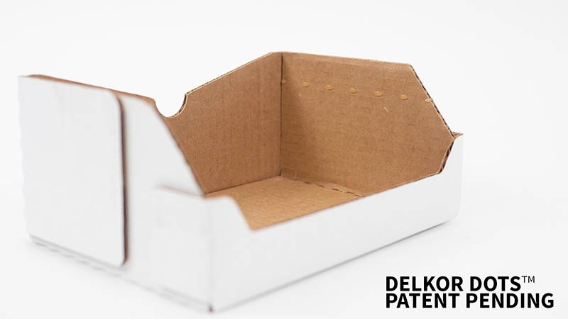 Delkor dots packaging strategically designs dot placements ideal for your displayed product
