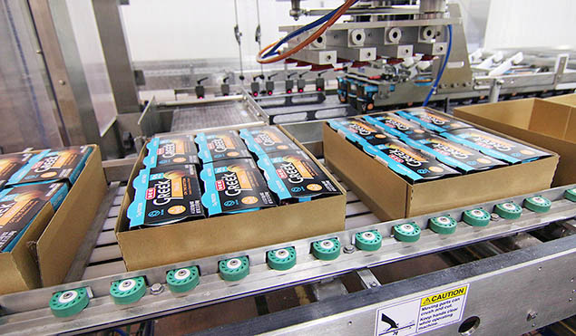 Flexible case packer capable of packing sleeved products