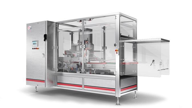 Ice cream packaging cartoning machine Delkor Capstone S Series