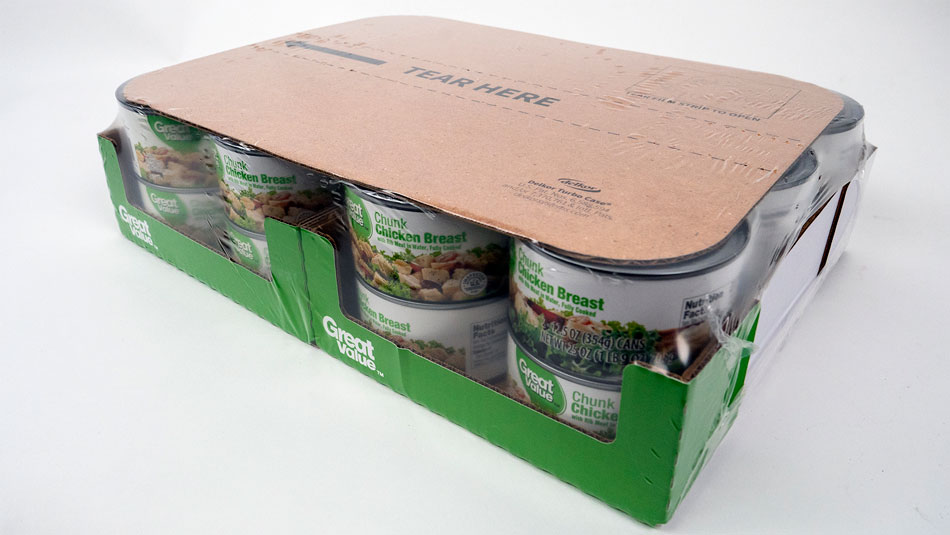 Meat packaging design for rigid containers Delkor Turbo Case