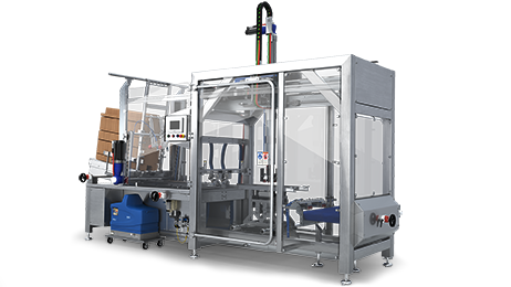 Case erector for retail ready packaging solutions