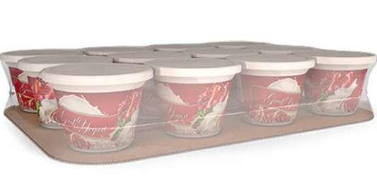 Rigid packaging cost saving design Delkor Spot-Pak
