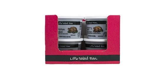 Rigid packaging retail ready tray