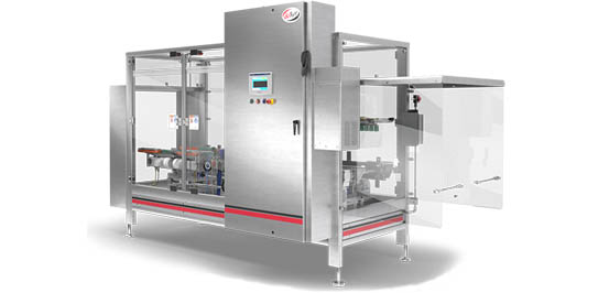 Sealing machine case sealer for standard cases and retail ready packages Delkor Cabrio Case