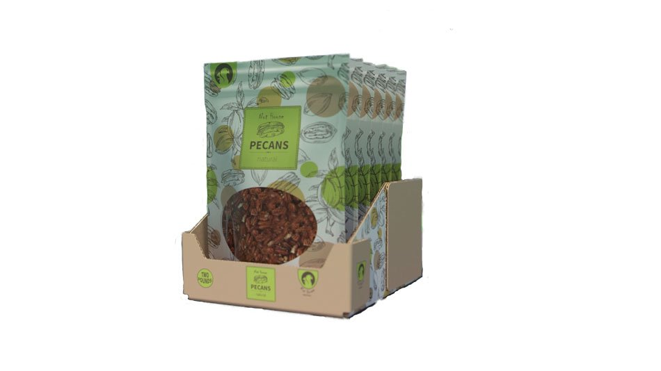 Seeds and nuts package design Delkor Cabrio Case