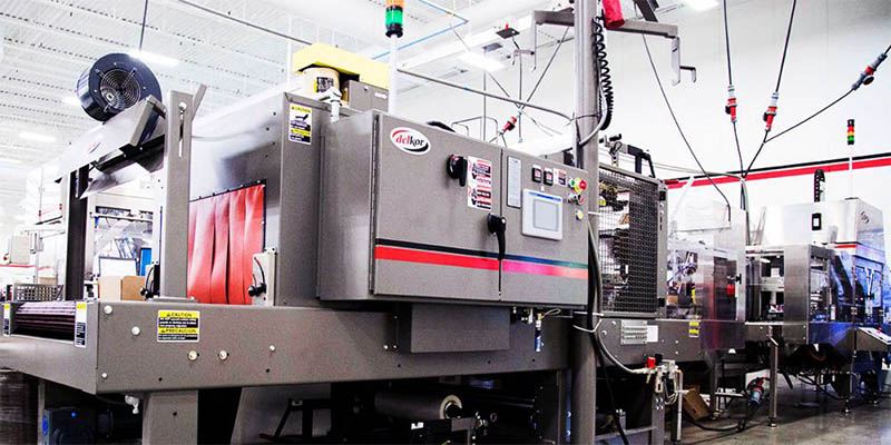 Shrink Wrap Machine to help cut corrugated costs