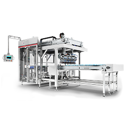 Shrink wrap machine D Series carton packing