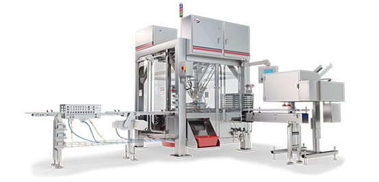 Top load case packer high-speed carton packing machine