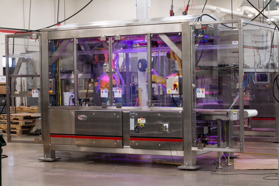 Kroger packaging guidelines automated machines from Delkor